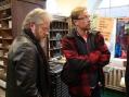Pepe Puskala ja suomalaisvirolainen lastenkirjailija Mika Keränen, joka oli oppaanamme kiertoajelulla